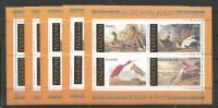 5x TANZANIA - MNH - Animals - Fauna - Birds - Audubon Birds - Wild Life In Peril - Birds