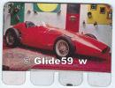 Plaquette En Tôle - L'Auto à Travers Les âges - Editions COOP - N° 55 - Maserati De Fangio - 1956 - Plaques En Tôle (après 1960)