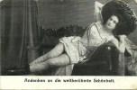 Andenken An Die Weltberühmte Schönheit (2 Scans) - Mujeres Famosas