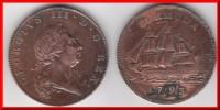 **** BERMUDA - BERMUDES - PENNY 1793 GEORGIUS III **** EN ACHAT IMMEDIAT !!! - Bermudes