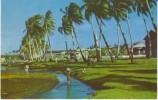 Inarajan Guam, Village Scene Children Carry Food Home, C1960s Vintage Postcard - Guam