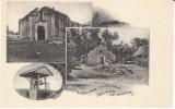 Guam Village Churches,  C1900s Vintage Albertype Postcard - Guam