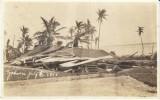 Guam Village Typhoon Damage July 1918,  C1910s Vintage Real Photo  Postcard - Guam