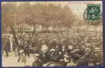 CCC -- CARTE PHOTO AUDE (11) - NARBONNE (A VALIDER) - EVENEMENTS DE 1907 - MANIFESTATION VITICOLE - Narbonne