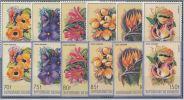 Burundi - 944/949 & PA553/558 - Fleurs - 1986 - MNH - 1980-89: Neufs