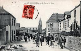 CPA 44 - 44760 - La Bernerie En Retz - Loire-inférieur -Rue De La Gare - 1749 - Phototypie Vasselier Nantes - La Bernerie-en-Retz
