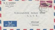 ALEP - 1960 , Aufdruck  UAR  - Brief Nach Tübingen - Syrie