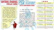 Apostolato Guida Santificata, Calendario 1962, Pieghevole - Calendarios