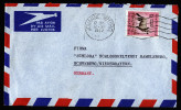 A3514) UK South Africa Cover From Johannesburg 10/12/57 With 1´6 Sh Single Franking - Südafrika (...-1961)