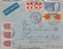LETTRE 1950 COTE D'OR MONTBARD POUR ALLEMAGNE ZONE AMERICAINE / 6000 - France