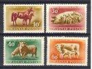 HONGRIE  1951 YT 986/89   ANIMAUX? ELEVAGE DE FERME - Hongrie