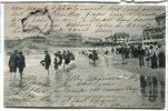- 2140 - BIARRITZ - La  Plage Et Le Palais De L'Empereur, Peu Courante, écrite, Belle Animation, BE, Scans. At. - Biarritz