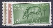 ESPAÑA/SAHARA 1955 - Edifil #123/25 ** - Precio Cat. €2.00 - Sahara Español