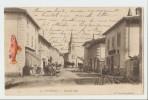 01 Dép.- 15. Vonnas - Grande Rue. B. F. Chalon-s-Saone. Carte Postale Ayant Voyagé En 1906,dos Non Séparé, Bon état. - Autres Communes