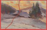 Winter Im Schwarzwald , W. Merker , Künstlerkarte - Ohne Zuordnung