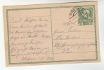 1909 Prein AUSTRIA Postal STATIONERY CARD Cover Stamps - Stamped Stationery