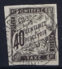 Cochinchine  Col. Gen. Taxe Yv Nr 10 Obl. Used Cad  Cochinchine - Oblitérés