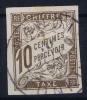 Cochinchine  Col. Gen. Taxe Yv Nr 19 Obl. Used Cad   TONKIN - Oblitérés