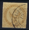 GUADELOUPE   Col. Gen.  Yv Nr 3 Obl. Used CAD Pointe-a-Pitre - Usados