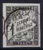 OBOCK Col. Gen.  Taxe Yv Nr 5 Obl. Used Cad - Oblitérés
