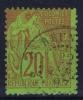 REUNION Col. Gen.  Yv Nr 52 Obl. Used Cad - Reunion Island (1852-1975)