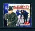 ALDERNEY  -  2003  Local Police Force  40p  Used As Scan - Alderney