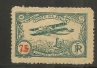 AEROPHILATELIE - 1922  BOURGES AVIATION MEETING-VARIETY DOUBLE Ovpt - Sanabria # 307 -* MINT H - Faults - Luchtpost