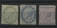 39, 40, 41 Neufs Mais Adhérence Papier D'album   * Cote * 1270 Euros - 1869-1883 Leopoldo II