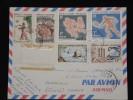 NOUVELLE CALEDONIE - Enveloppe Pour La France En 1963 - A Voir - Lot P11754 - Briefe U. Dokumente