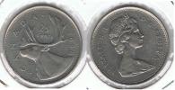 CANADA 25 CENTS DOLLAR 1968 P - Canada