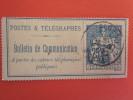 BULLETIN DE COMMUNICATION 25C BLEU N°16 CAD ALGER > A PARTIR DE CABINE TELEPHONIQUE PUBLIQUE POSTES & TELEGRAPHES C/9€ - Telegraaf-en Telefoonzegels