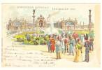Exposition Internale [internationale] Bruxelles 1897 Palais De L'Industrie; Müller & Trüb Aarau 347; OBP 71 Cachet - Weltausstellungen