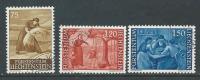 Liechtenstein, Mi 395-97 Jaar 1960,   Gestempeld,  Cote 5,50 Euro à 15 %, Zie Scan - Oblitérés
