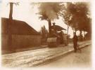 410Ga  Photo Originale Travaux Public Goudron Rouleau Compresseur En Action Tacot - Ile De Bréhat