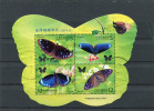 TAIWAN 2011 SHEET With BUTTERFLIES. USED/CTO - Papillons
