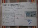 08 RETHEL PERMIS DE CHASSE Timbres Fiscaux,tampons  Belgique - Unclassified