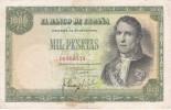 BILLETE DE 1000 PTAS DEL AÑO 1949 DE SANTILLAN (BANKNOTE) - [ 3] 1936-1975 : Régimen De Franco