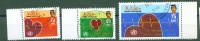 Brunei, 1992, Weltgesundheitstag, World Health Day, Michel 442/44, Used First Day - Brunei (1984-...)