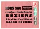 2.20 Type Liberté + Marianne De Briat Sur Lettre HORS SAC - - Postmark Collection (Covers)