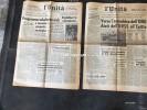 """LOTTO DI 2 NUMERI DEL GIORNALE:""""L'UNITA'"""" 31-7-1966 E 15-6-1967 -14 PAGINE-VEDI SCAN. - Libri, Riviste, Fumetti"""