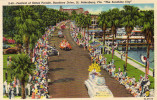 "Festival Of States Parade, Bayshore Drive, St.Petersburg, Florida ""The Sunshine City"" - St Petersburg"
