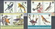 ANIMALES/PAJAROS. MONTASERRAT 1985. Yvert#588/95**  Precio Cat€7.50 - Cuckoos & Turacos