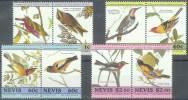 ANIMALES/PAJAROS. NEVIS 1985. Yvert#291/98**  Precio Cat€5.50 - Cuckoos & Turacos