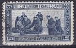 Regno D´Italia, 1926  - 1,25 Lire Morte Del Santo - Nr.196 Usato° - 1900-44 Vittorio Emanuele III