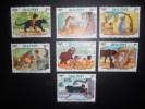 Disney , Le Livre De La Jungle , 7 Timbres Du Dhutan - Disney
