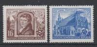 ALLEMAGNE - DDR - 1953 - * - Michel 358,361 -  0.99€ - [6] Democratic Republic
