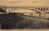 LES MAILLYS  - Pont Sur La Saone (carte Toilée Colorisée ) Etds Karrer - France