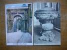 2 Cartes De Besançon , Porte Noire Arc De Triomphe , Ancien Bénitier Du Couvent Des Jacobins - Besancon