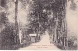 POSTAL DE GABON - LIBREVILLE- ROUTE DE LA MILICE  (COLONIES FRANÇAISES) - Gabón