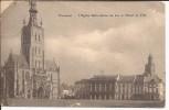 TIENEN: L' Eglise Notre-Dame Du Lac Et L'Hotel De Ville - Tienen